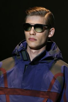 Gucci SS14 Menswear - Sunglasses  See www.VeryFirstTo.com for more Gucci
