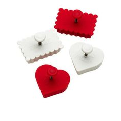 The Davis & Waddell 4 Piece Message Cookie Cutter Set is perfect for baking the cutest little cookies! Chocolate Caramel Slice, Chocolate Caramels, Best Chocolate, Caramello Slice, Little Bit Of Love, Cookie Cutter Set, Baking Recipes, Coconut, Messages