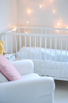 String Lights In Nursery : 1000+ images about Inspired by the Elements: AIRY NURSERY on Pinterest Nursery lighting, Tea ...