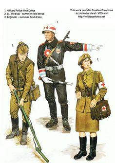Soviet Uniforms - MPs-Medics by VERGANZA-DE-SASUKE