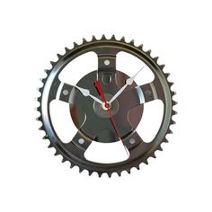 Recycled Bike Hybrid Wall Clock