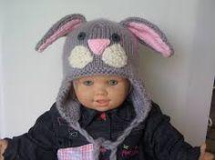 """Résultat de recherche d'images pour """"cagoule en laine lapin"""""""