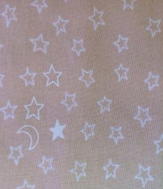 David Textiles tan star 100 cotton fabric by BlueCraneQuiltShop
