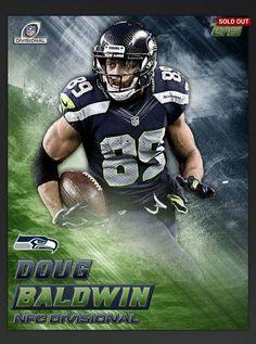 Doug Baldwin 2017 Topps Huddle Digital NFC Divisional Playoff Seattle Seahawks | Sports Mem, Cards & Fan Shop, Sports Trading Cards, Football Cards | eBay!