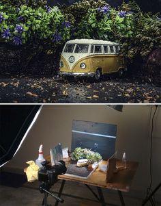 "This Artist Creates Miniature Sets To Shoot ""Outdoor"" Photos - UltraLinx photographytips tutorials howto 760545455800619345 Photography Lessons, Photography Camera, Photography Tutorials, Creative Photography, Digital Photography, Landscape Photography, Umbrella Photography, Photography Magazine, Iphone Photography"