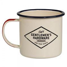 Plongez-vous dans la peau des baroudeurs des temps modernes muni de ce mug émaillé aventure Gentlemen's Hardware. Tout en métal, au design rétro, il respire les périples d'hommes, les vrais... #mugshot #coffee #coffelover #the #tea #mug #mugs
