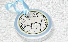 Personalized+Ceramic+Baby+Ornament+%26%2339%3BIt%26%2339%3Bs+A+Boy%26%2339%3B