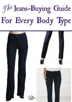 Skinny jeans on hourglass figure