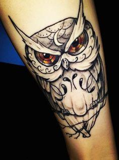 Tatuajes de buhos, descubre los mejores tattoo de buhos