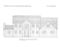 "2 or More Stories, Colonial - Ea Bruns, NJ TO BE BUILT! A MAGNIFICENT 4 BED/2.5 BATH COLONIAL.HARDWOOD FLOORS THRU OUT. CERAMIC TILE IN FOYER & KITCHEN.HUGE MASTER SUITE WITH LARGE WALK-IN CLOSETS.FULL BASEMENT.MANY UPGRADES- GRANITE,SS APPS,CROWN MOLDINGS,RECESSED LIGHTING, 42"" CABINETS,& MORE.PICK YOUR COLORS & OPTIONS PRE-CONSTRUCTION! Close to NYC Buses."