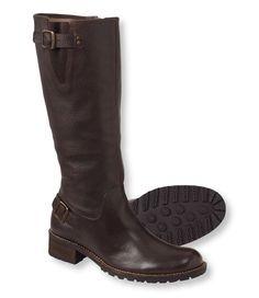 Women's Deerfield Rustic Boots, Double-Buckle