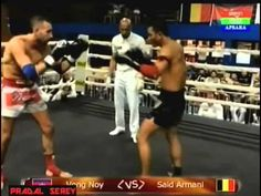 Vung Noy vs Said Armani Belgium Kun Khmer in France 6 08 2014