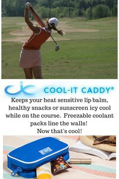 Weather warming up......time for a Cool-it Caddy personal cooler!