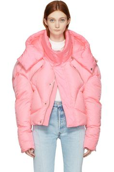 Chen Peng - Pink Down Jacket