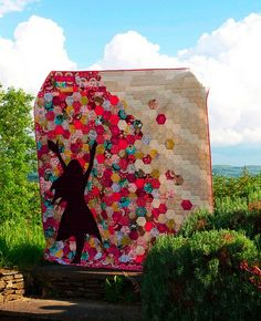 Carefree Quilt by Rosie Stirling
