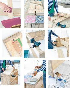 Manos a la obra on pinterest diy floating shelves and - Decorar un mueble ...