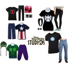 Hollywood Studios Family Outfits on Polyvore featuring Reactor, Old Navy, Levi's and Disney
