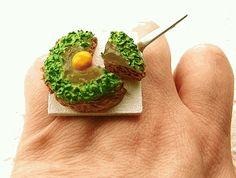 Okonomiyaki Savory Pancake Miniature Food Ring 2