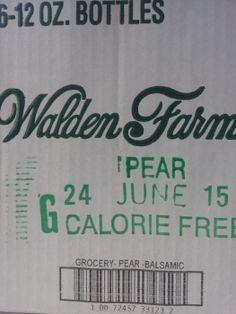 Wer die Walden Farms - Pear & White Balsamic low carb & low fat - Salatsauce schon kennt - nun gibt es die 6-Flaschen-Sparbox!