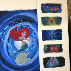Artwork from The Legacy Collection: The Little Mermaid