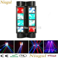 Mini LED Spider light 8X10W LED Beam moving DMX Stage Lights Business Light High Power Light with Professional for KTV Disco DJ