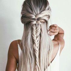 10 peinados semi recogidos para cabello lacio