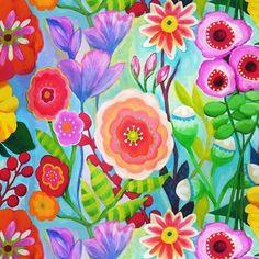 multi-color floral