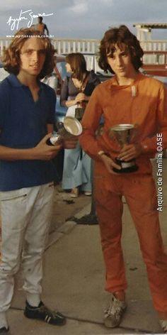 Ayrton Senna wins cup at kart races. Motogp, Formula 1, Sport Cars, Race Cars, Brazilian Grand Prix, Lancia Delta, Karting, F1 Racing, F1 Drivers