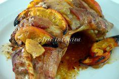 Tacchino al forno con arancia e zenzero