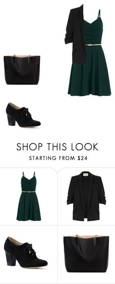 cocktel by camigonzalez-ii on Polyvore featuring moda, River Island and Lands' End