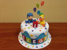 Tarta Pocoyo y Pato Birthday Themes For Boys, Baby Birthday, Birthday Cake, Birthday Parties, Mickey Mouse Theme Party, Minnie Mouse, Lalaloopsy, Cake Pocoyo, Bday Girl