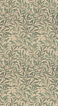 Willow Boughs Green tapet från William Morris & Co - TapetoramaYou can find William morris and more on our website.Willow Boughs Green tapet från William Morris & Co - Tapetorama Arts And Crafts For Teens, Art And Craft Videos, Arts And Crafts House, Easy Arts And Crafts, William Morris Wallpaper, William Morris Art, Morris Wallpapers, William Morris Patterns, Fond Rose Pale