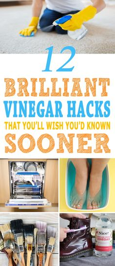 Vinegar is a very well-known member of your household. This white colored liquid is capable of doing wonders. Check out below some of the brilliant vinegar hacks that you'll wish…
