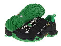 #adidas Outdoor Terrex Swift R GTX® Black/Real Green - #6pm.com