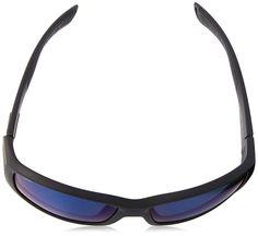 Costa Del Mar Cortez Sunglasses Blackout / Blue Mirror 400Glass CZ 01 BMGLP