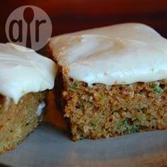 Courgette Cake Slices @ allrecipes.co.uk