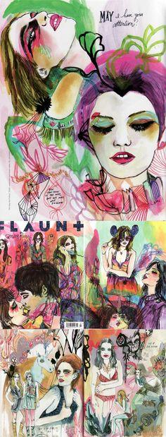 Kime Buzzelli featured in flaunt magazine.
