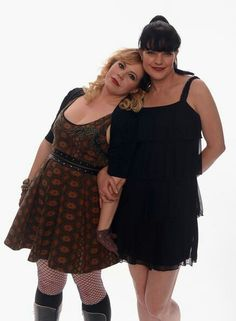 CBS's great minds; Criminal Minds Garcia & NCIS Abby. Rad ladies of crime drama