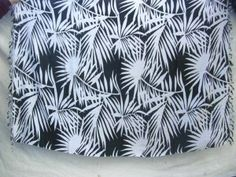 palm leave black and white sarong - http://www.wholesalesarong.com/blog/palm-leave-black-and-white-sarong/