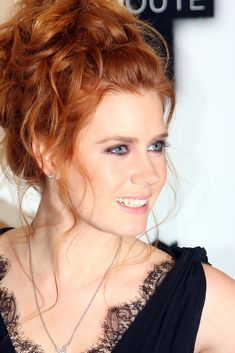 More Pics of Amy Adams Messy Updo