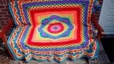 Regenboog deken