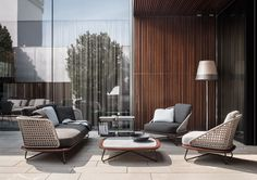 Minotti Outdoor Collection | Rivera Collection, Rodolfo Dordoni Design