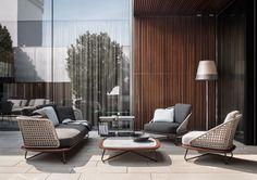 Minotti Outdoor Collection | Rivera Collection, Rodolfo Dordoni Design