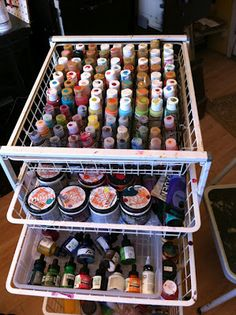 May want to get another rolling cart like the ones I got for the kitchen pantry.