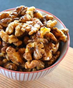 Healthy Snacking: Sweet Spiced Walnuts