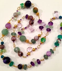 Hey, I found this really awesome Etsy listing at http://www.etsy.com/listing/164687414/amethyst-aquamarine-statement-necklace