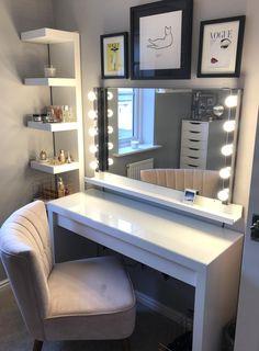 Cute Bedroom Decor, Bedroom Decor For Teen Girls, Room Design Bedroom, Girl Bedroom Designs, Teen Room Decor, Stylish Bedroom, Room Ideas Bedroom, Girl Bedrooms, Bedroom Modern