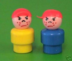 the mean Fisher Price boys