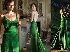 "Red Carpet Fashion: Keira Knightley's Emerald Green Atonement Dress Voted ""Best Movie Costume of All Time"""