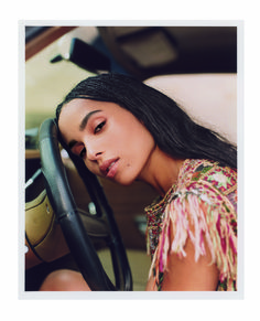 Zoë Kravitz discusses dealing with racial stereotypes in film as she showcases her ethereal beauty in stunning new photoshoot Lenny Kravitz, Zoe Kravitz Style, Zoe Kravitz Tattoos, Zoe Kravitz Braids, Beauty Crush, Ysl Beauty, Beauty Care, Lisa Bonet, Zoe Isabella Kravitz